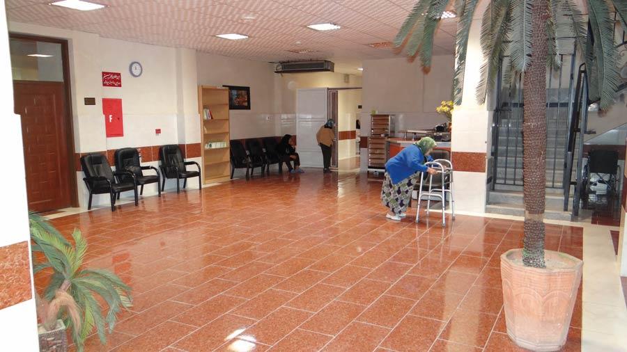 امکانات رفاهی مرکز سالمندان فرزانگان